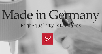 Made inGermany - high - quality standards