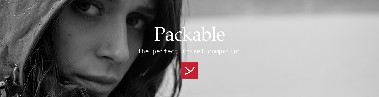Packable - The perfect travel companion